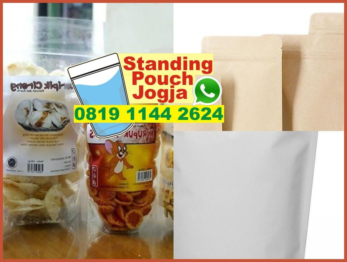 Standing pouch ecopack standing pouch silver jual standing