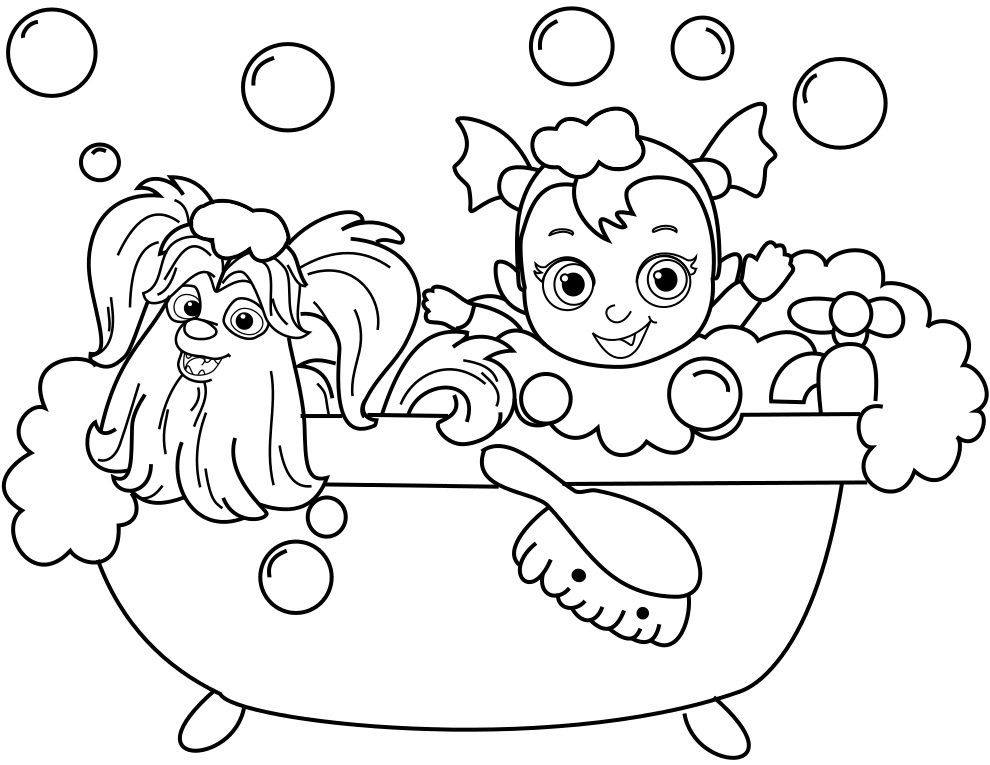 Vampirina Coloring Pages Best Coloring Pages For Kids Disney Coloring Pages Free Halloween Coloring Pages Coloring Pages
