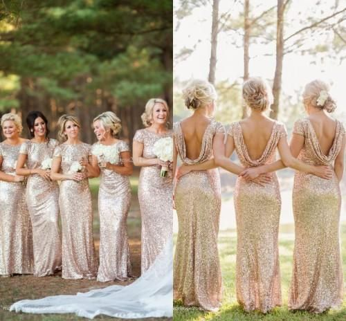 Gold Plus Size Wedding Gowns