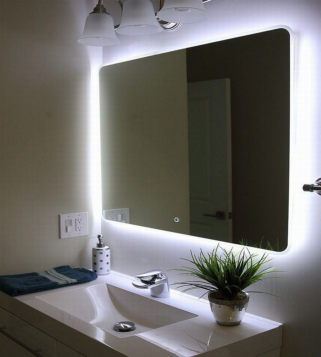 25 Diy Vanity Mirror Ideas With Lights With Images Bathroom