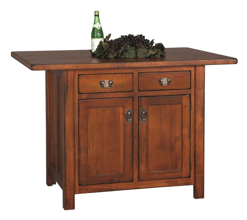 Design Your Own Exterior: Design Your Own Custom Amish-Made Kitchen Island