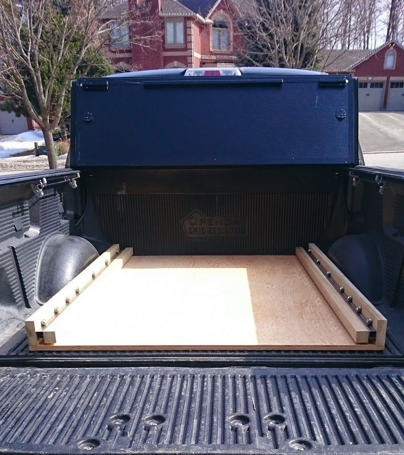 DIY bed slide Ford Truck Enthusiasts Forums Truck bed