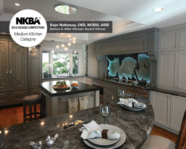 2014 Nkba Design Competition Winner Before After Kitchen At