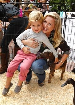 Jessica Capshaw & their son Luke