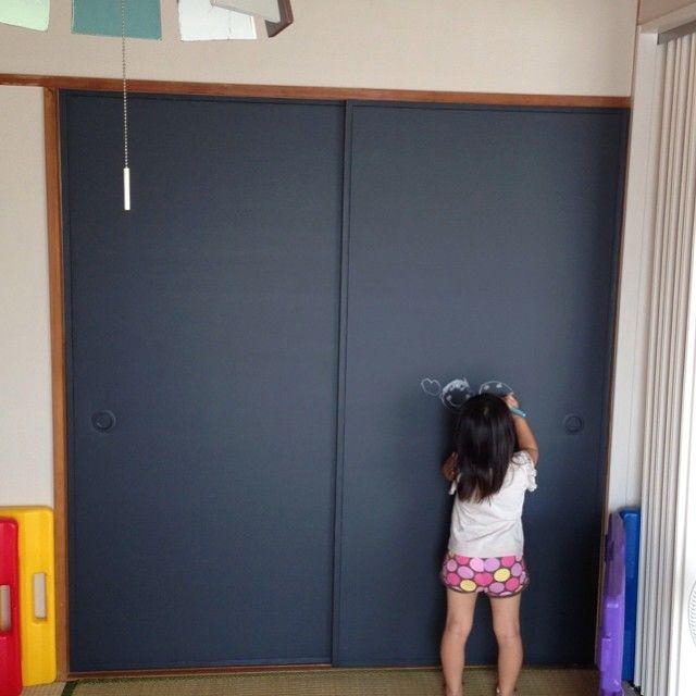 ふすま紙を張り替えて洋風に 簡単和室リフォーム9つの方法 襖