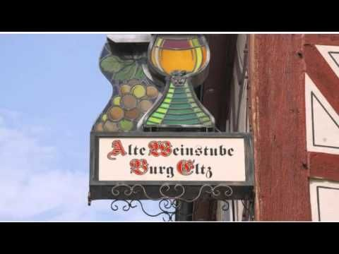 Alte Weinstube Burg Eltz - Treis Karden - Visit http://germanhotelstv.com/zimmer-frei-burg-eltz-treis-karden Featuring barbecue facilities free WiFi and a buffet breakfast Alte Weinstube Burg Eltz offers a scenic countryside location in Treis-Karden. It is situated just 100 metres from the banks of the Moselle River. -http://youtu.be/Nm_Y_bisE4o