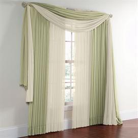 Wow 16 Brylane Home Scarf Valance 288 Elegant Curtains