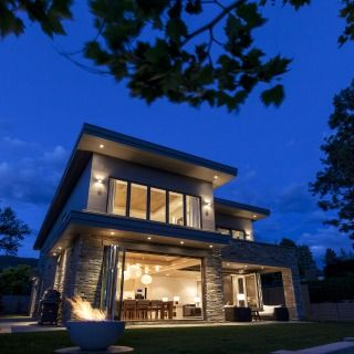 Inside outside living at its best also modern houses images on pinterest future house rh