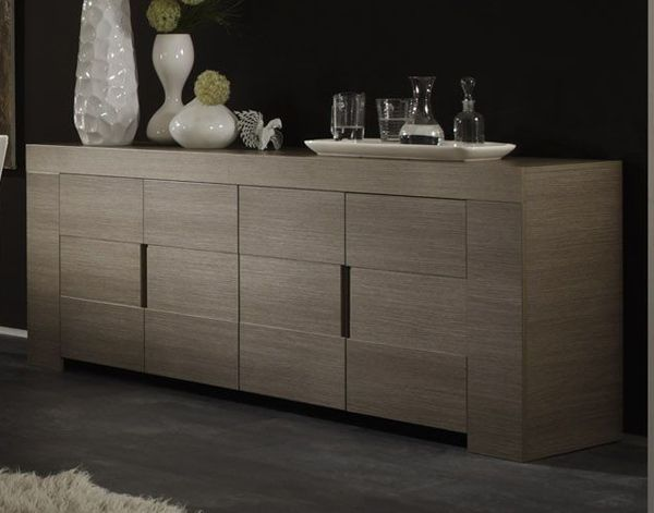 Bahut 4 Portes Messina Buffet Design Mobilier De Salon Et Meuble Design