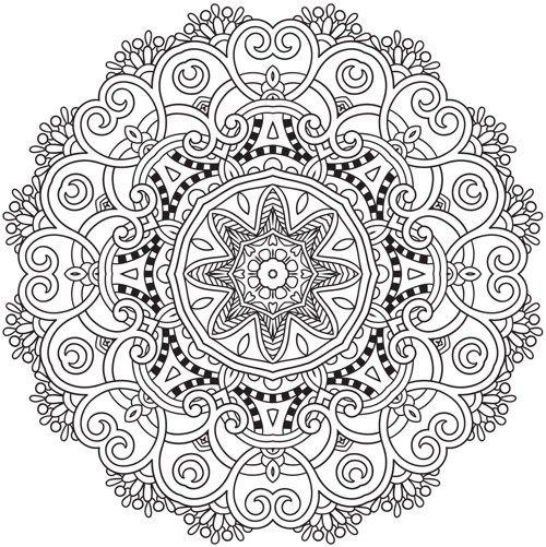 Luxury Mandala Coloring Books 3 The Best Mandala