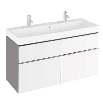 Keramag iCon Waschtischunterschrank mit mittigem Siphonausschnitt
