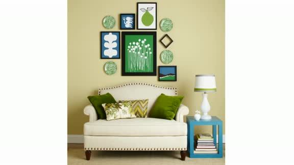 Watch Create a Gallery Wall in the Better Homes and Gardens Video ...