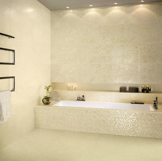 keramik-mosaik-fliesen-badezimmer-außenwand-verkleidung-heizkörper - fliesen für badezimmer