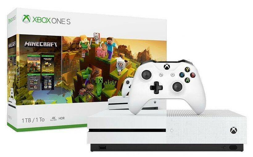 Unopened New In Box Microsoft Xbox One S 1tb Minecraft Creators Console Bundle Minecraft Playing Game Xbox One S 1tb Xbox One Minecraft Creator
