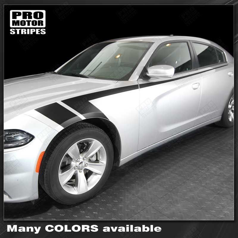 Dodge Charger 20112019 Side Accent Fender Hash Stripes
