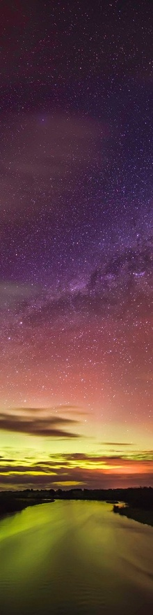 New Zealands Southern Lights Aurora Australis