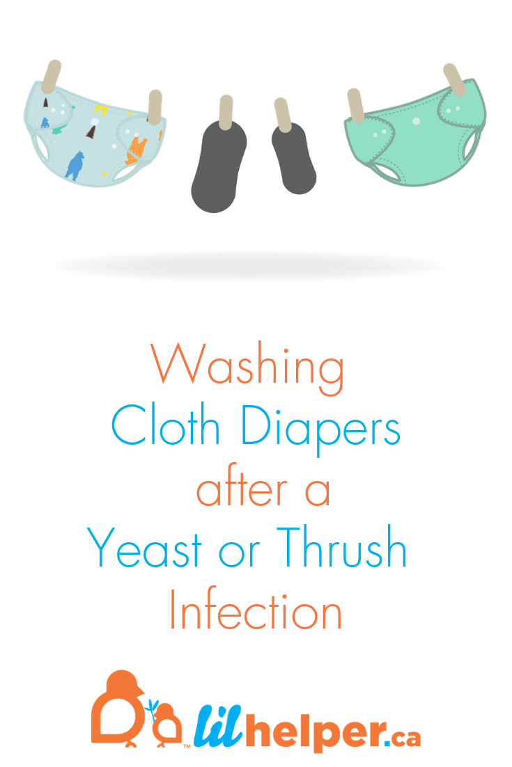 How Do I Wash Cloth Diapers After a Yeast Infection