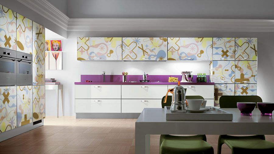 Cucine Scavolini Moderne Modello Crystal | Pinterest | Crystals and ...