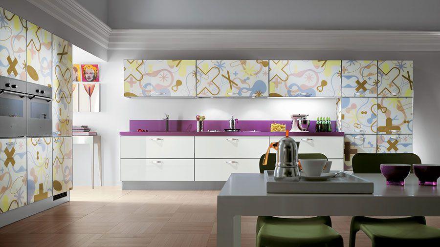 Cucina Scavolini modello Crystal n.07 | Cucine | Pinterest ...