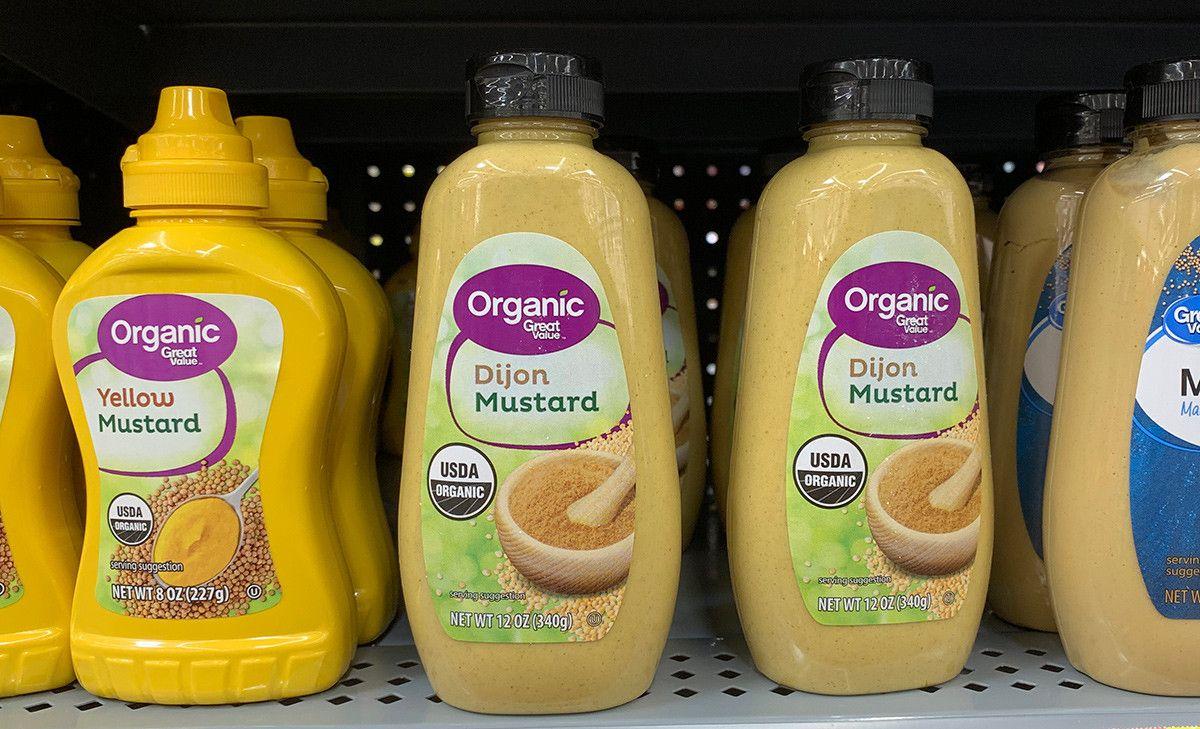 Great value organic dijon mustard 8 oz