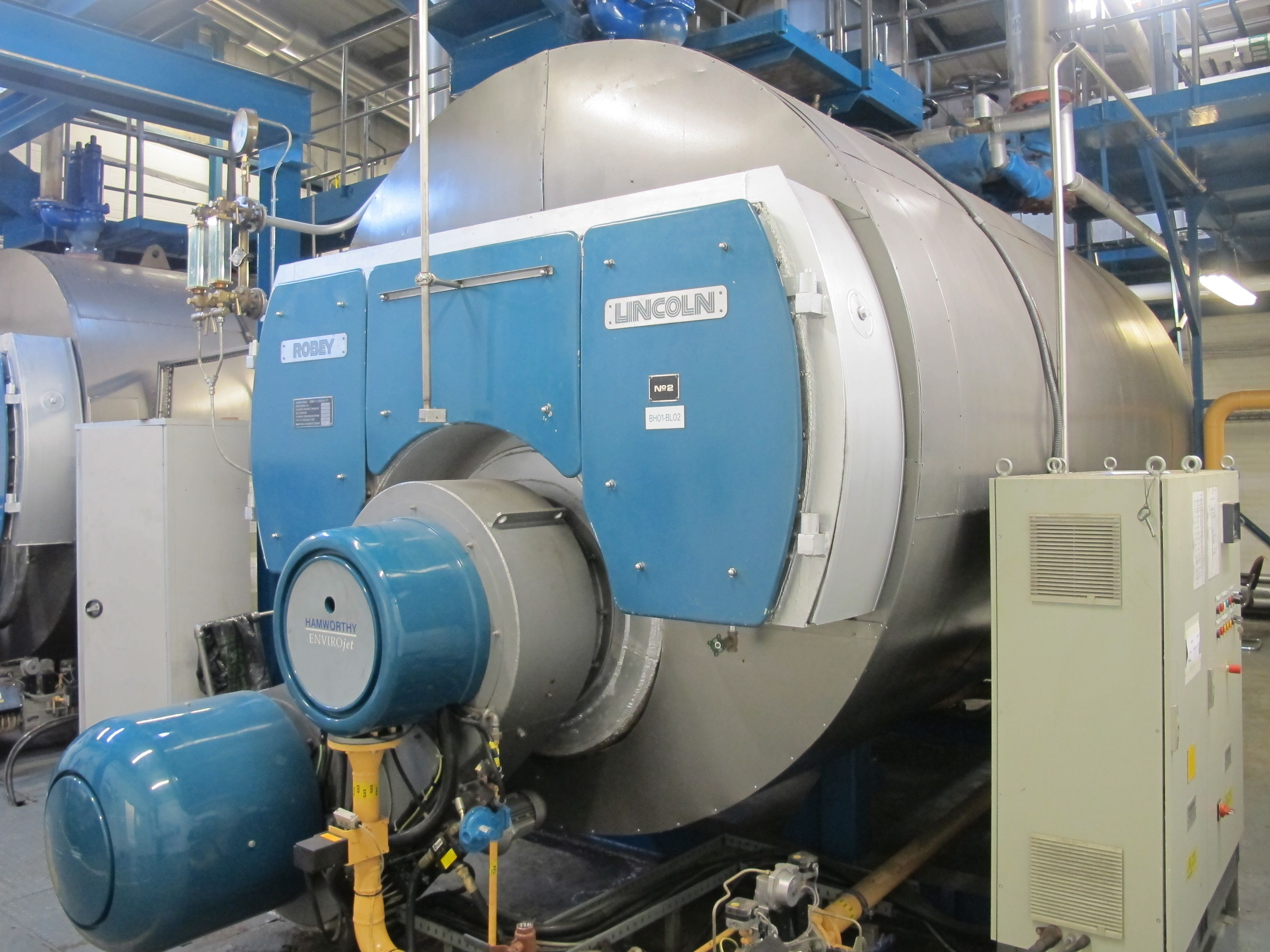 Robey Lincoln boiler | Industrial Boilers | Pinterest