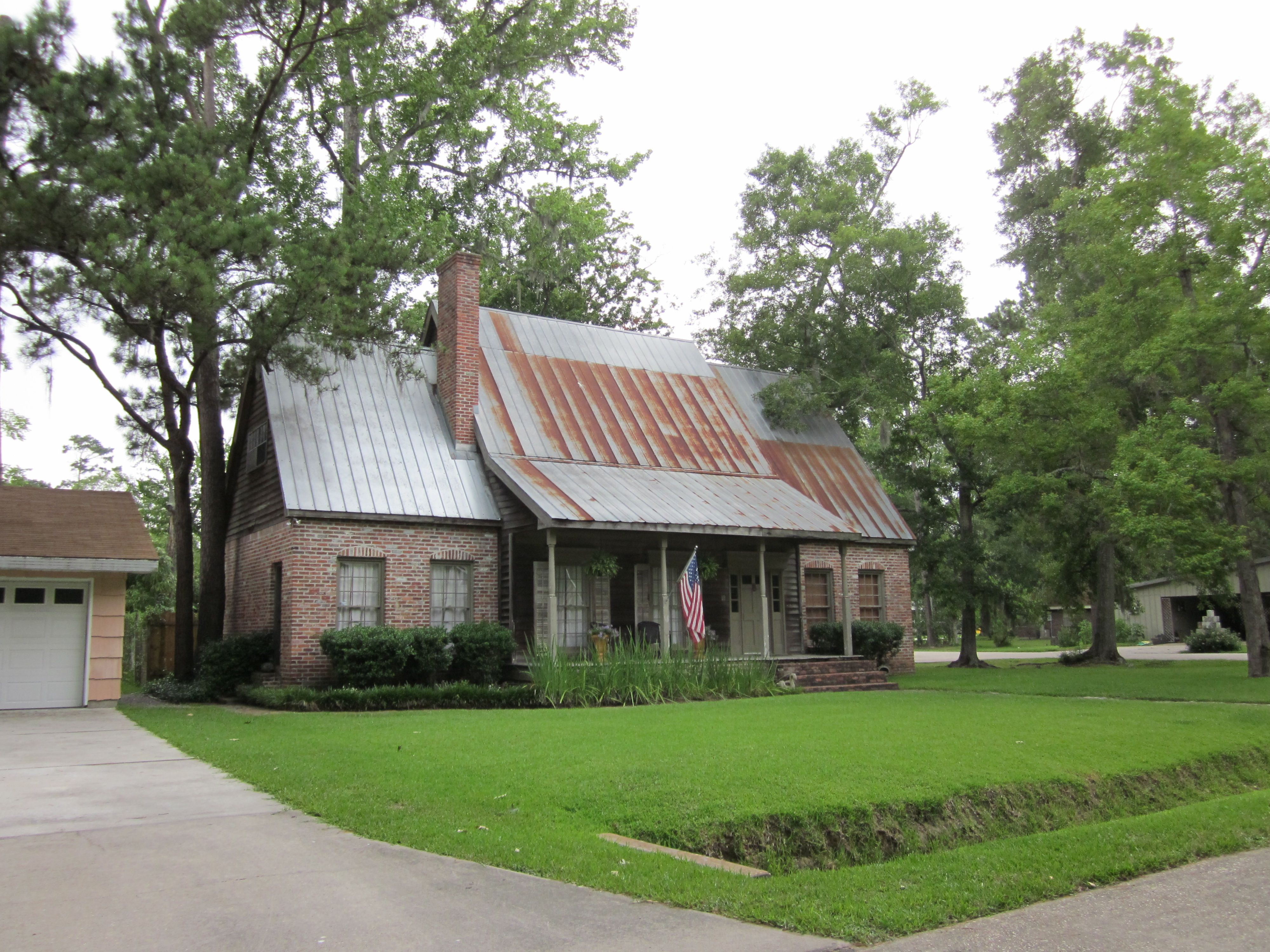 arts and crafts style homes with metal roof Google Search