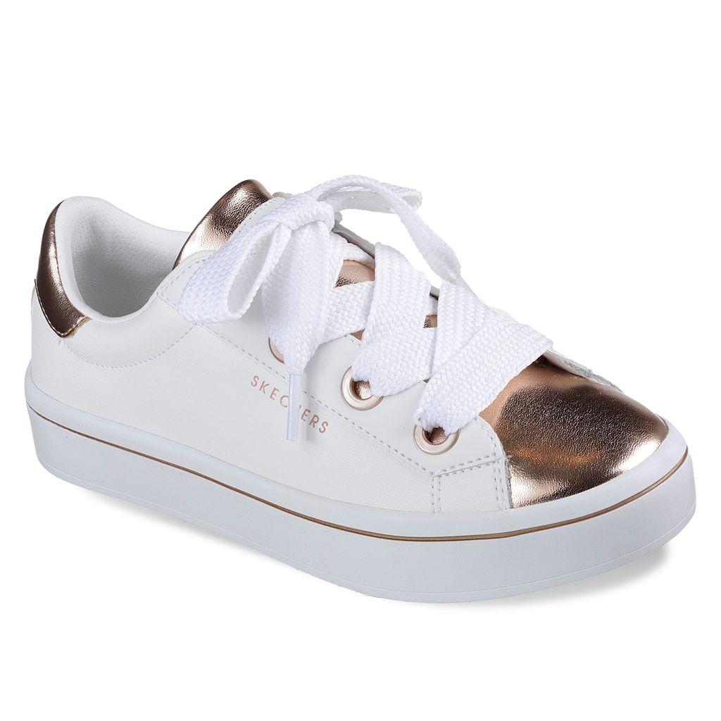 01122675be86 Skechers Street Hi Lites Metal Toes Women s Sneakers