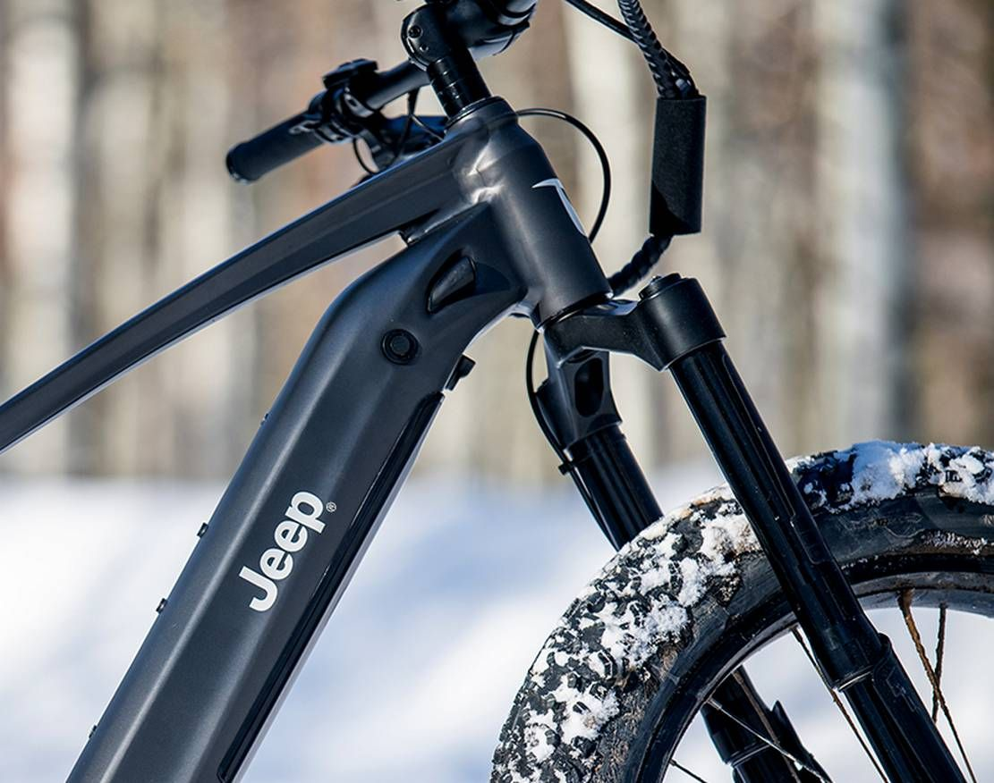 Jeep E Bike In 2020 With Images Electric Mountain Bike Jeep Electric Bike