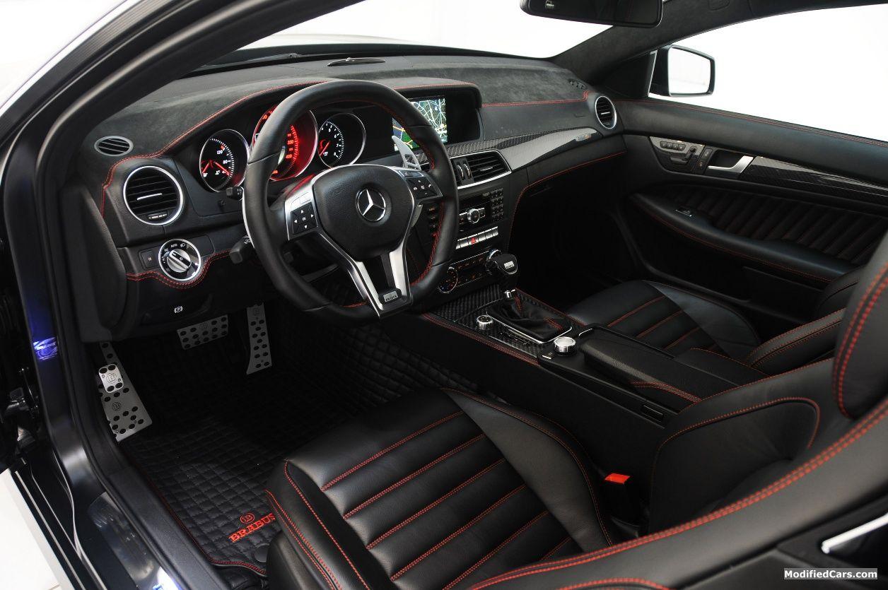 Brabus 800 Bullit - C63 AMG Interior | Auto-Crazed: Junk File ...
