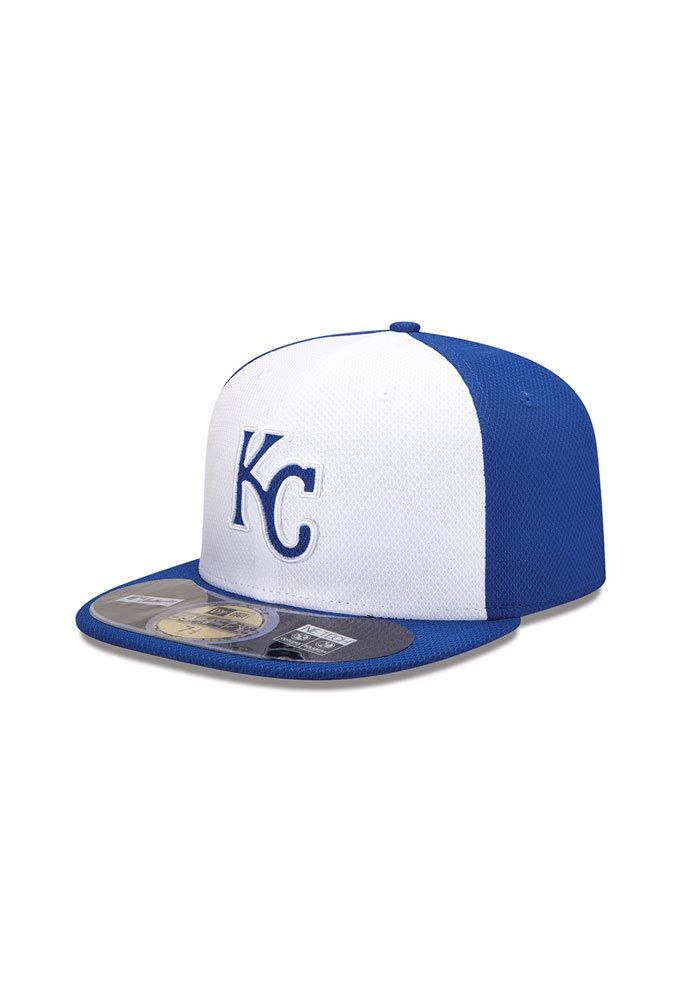 new product 238b5 28ae3 Kansas City Royals (KC Royals) Diamond Era 59fifty (Fitted) BP Hat http
