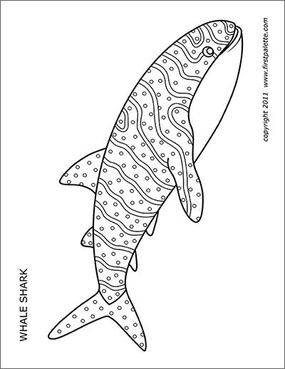 Shark Free Printable Templates Coloring Pages Firstpalette Com Shark Coloring Pages Whale Coloring Pages Animal Coloring Pages