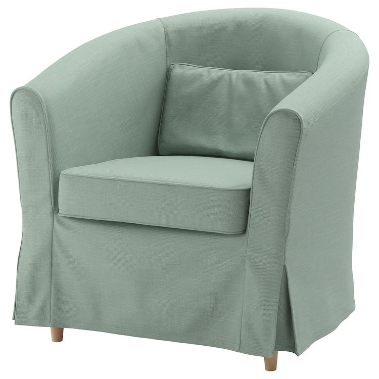 Tullsta Sessel Nordvalla Hellgrun Ikea Deutschland In 2020 Arm Chair Covers Ikea Armchair Ikea