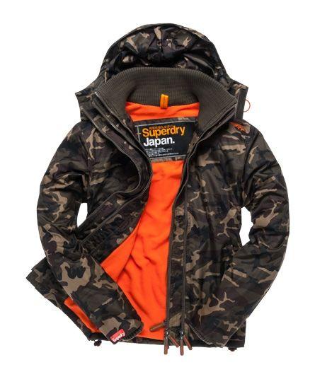 Superdry Hooded Polar Windcheater | Mens jackets, Jackets