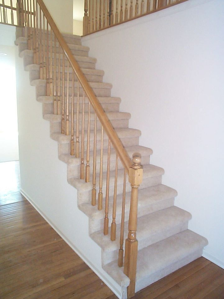 Best Beige Stair Carpet With Upholstery Work Through Rail 640 x 480