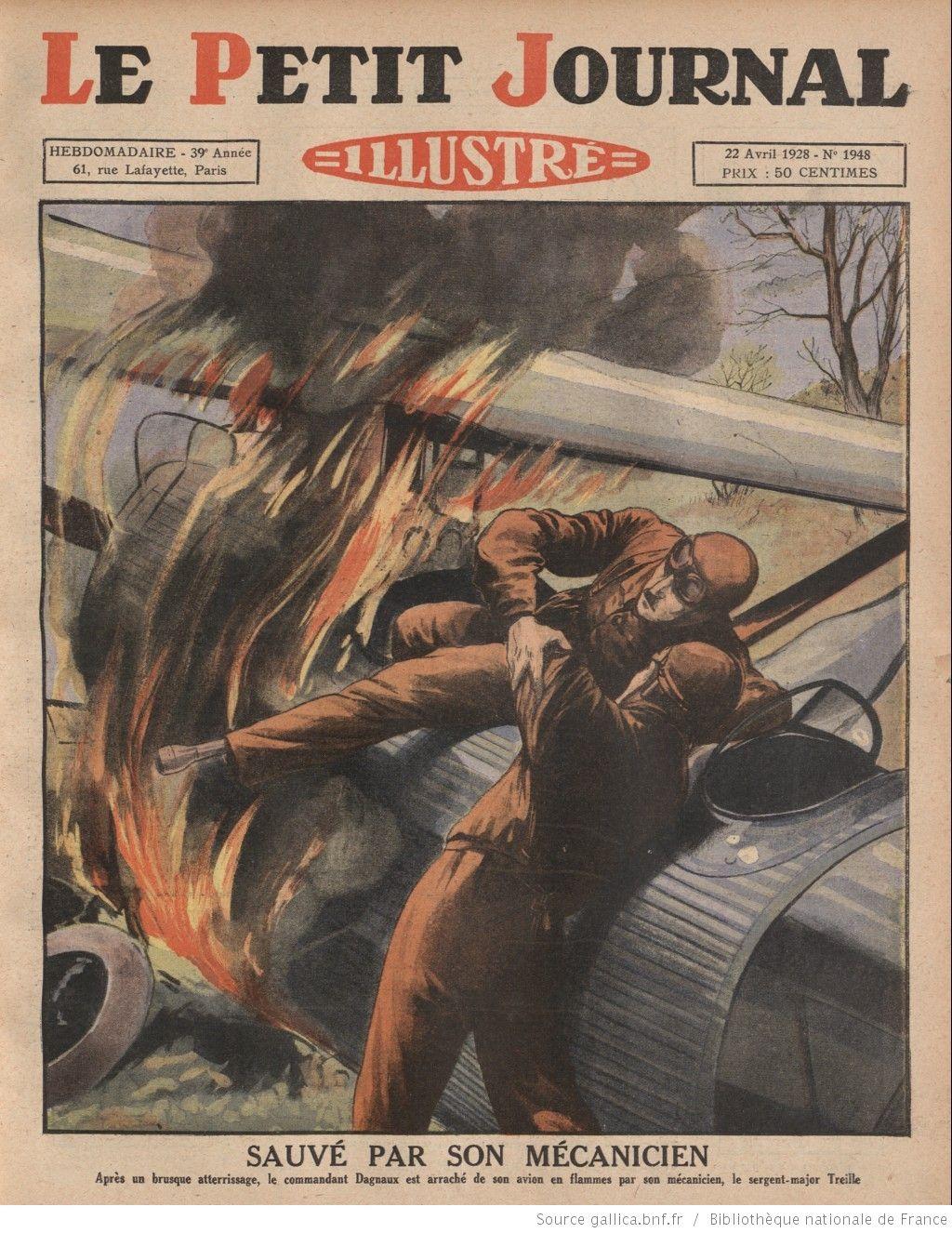 Le Petit journal illustré 1928