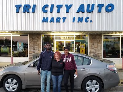 TRI CITY AUTO MART Congratulations to Tenee Allen