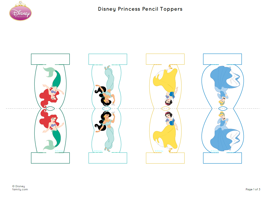 Pin By Crafty Annabelle On Disney Princesses Printables