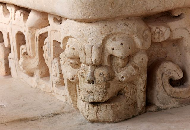 Stucco sculpture of Ek Balam, Mexico
