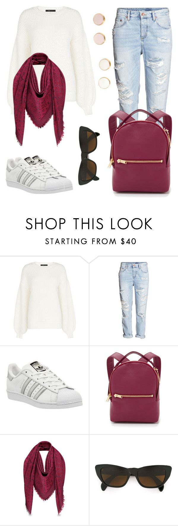 """2day"" by helena-italian-fashion ❤ liked on Polyvore featuring BCBGMAXAZRIA, H&M, adidas, Sophie Hulme, Moschino, men's fashion and menswear"