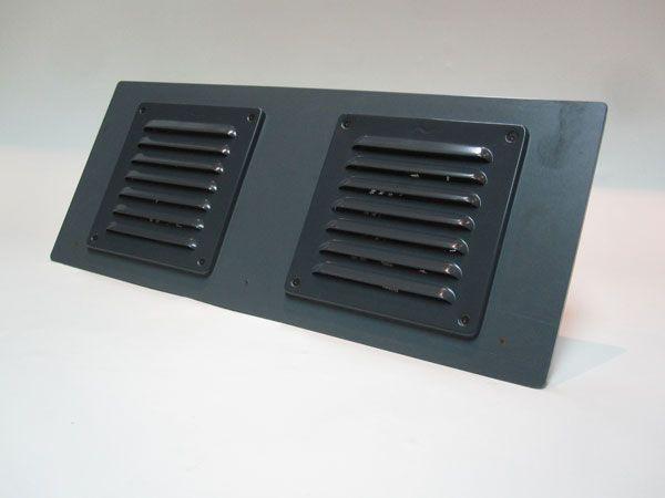 Dual fan regelbaar ventilatie systeem | Landreiziger – Defender Lifestyle
