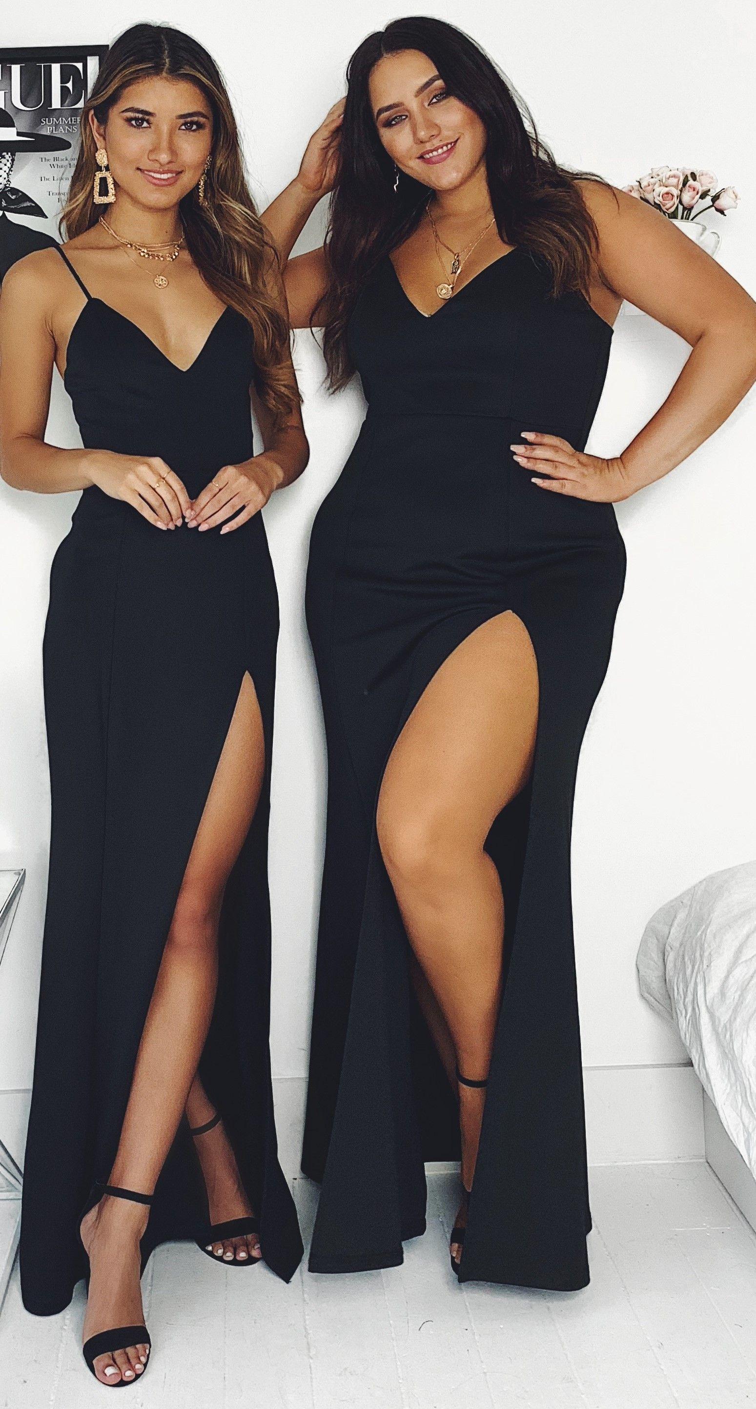 Turn Heads In This Glamorous Black Dress Dresses Online Australia Black Dress Outfits Ball Dresses [ 2888 x 1549 Pixel ]