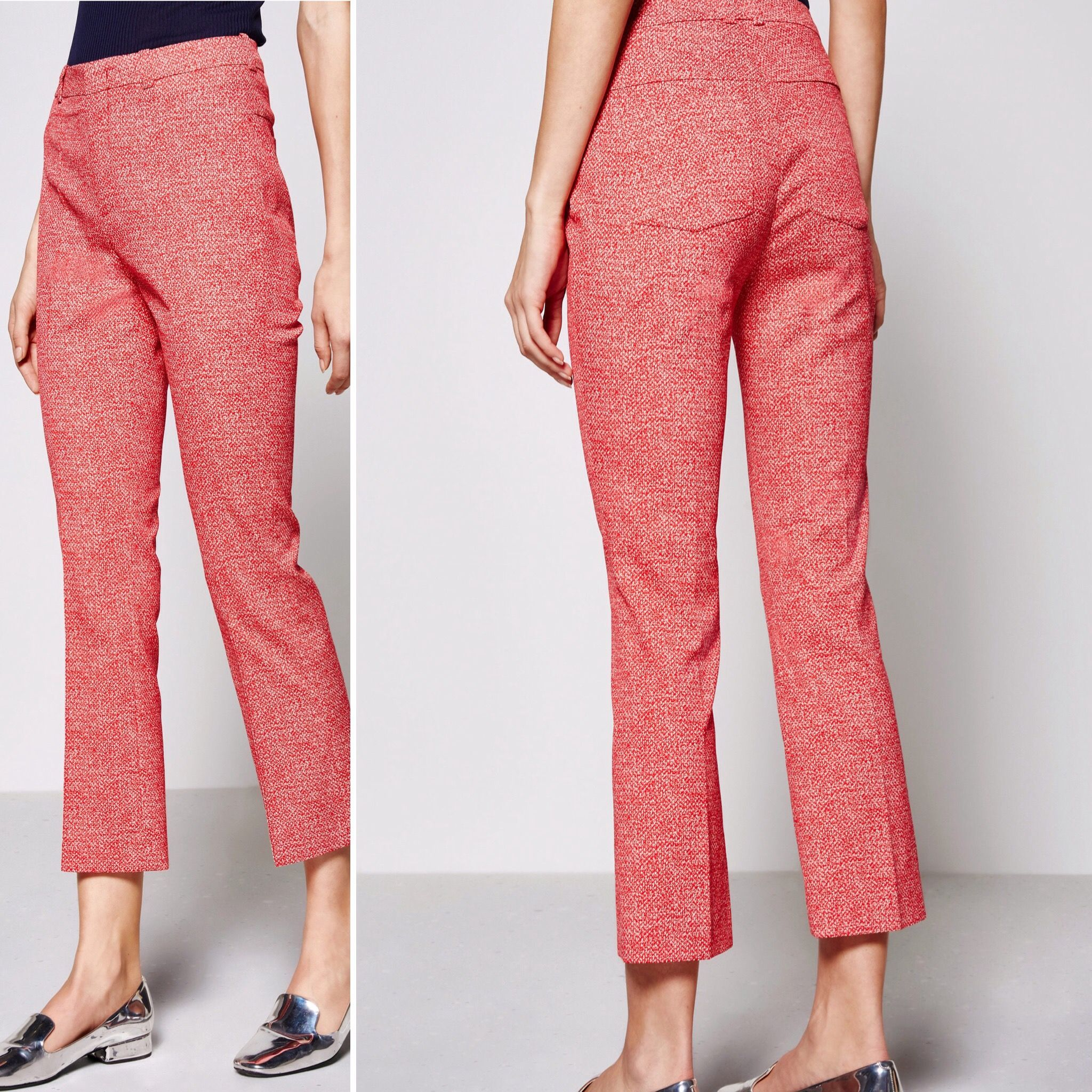 Drykorn High Waist Slim Fit Flared Trousers Vibe €159