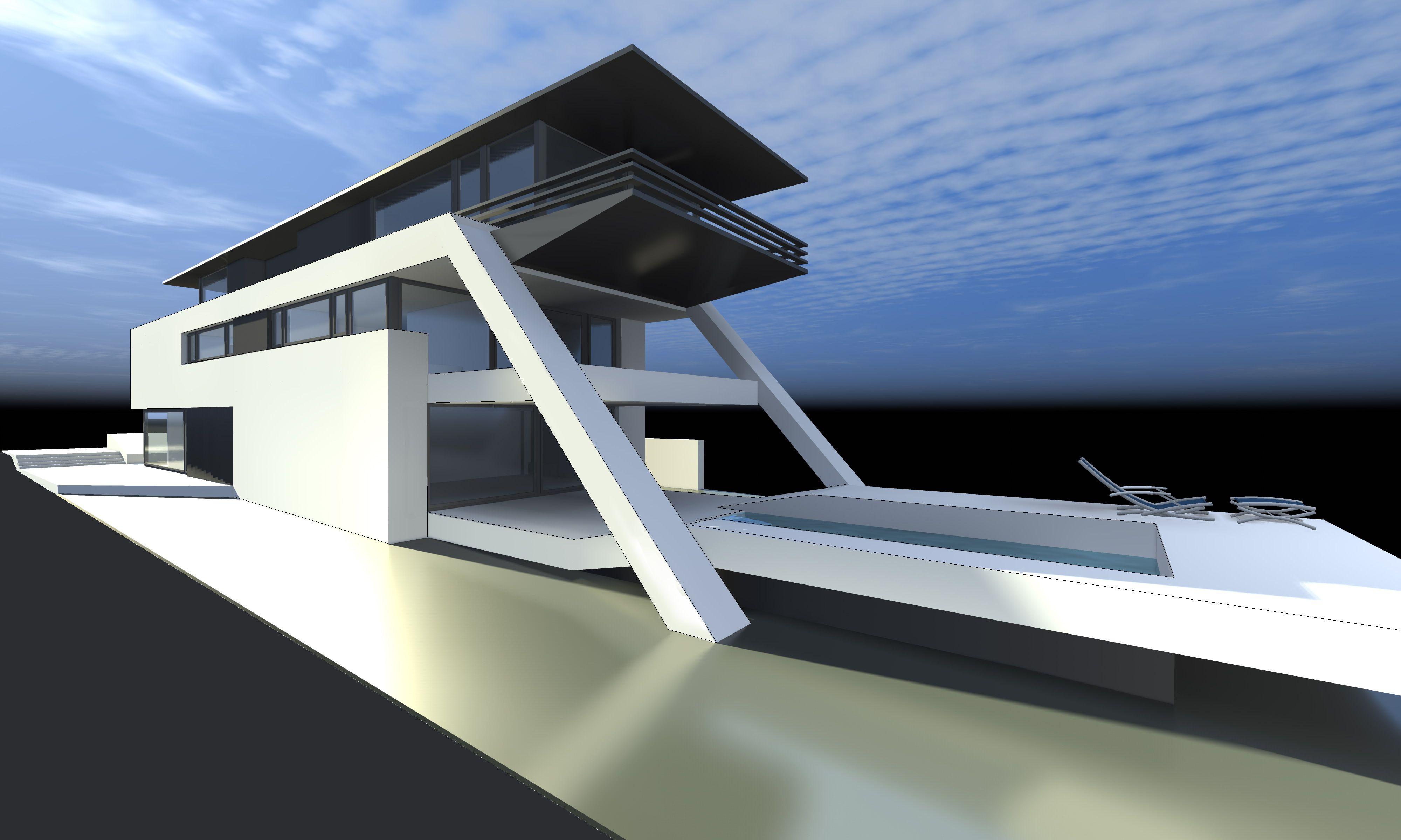 moderne architektur einfamilienhaus schweiz
