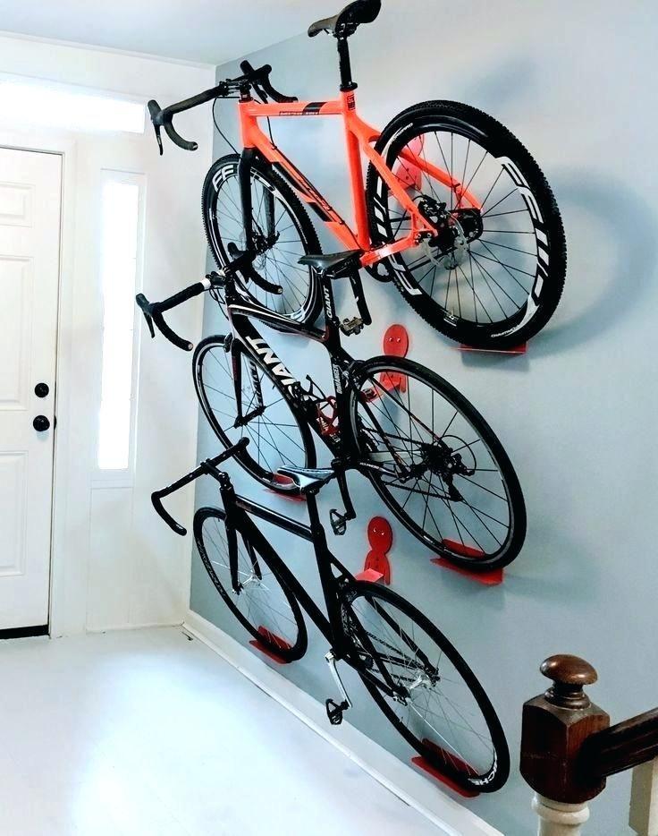 Road Bike Wall Mount Hook Indoor Bicycle Storage Parking Rack Bracket Holder UK