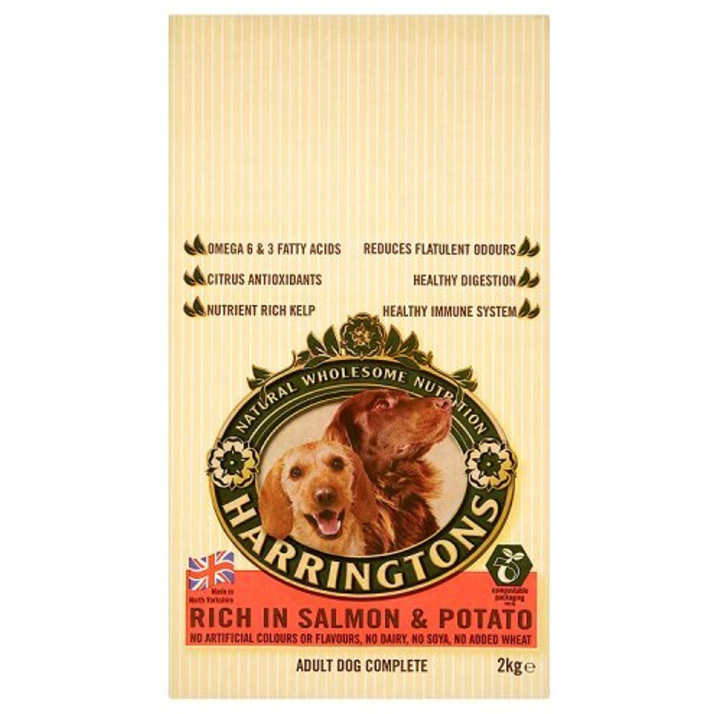 Harringtons Complete Adult Dog Salmon Potato 2kg 2000g You