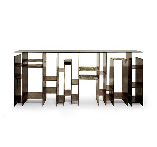 KYAN   Modern Console Table Modern Contemporary Design By BRABBU