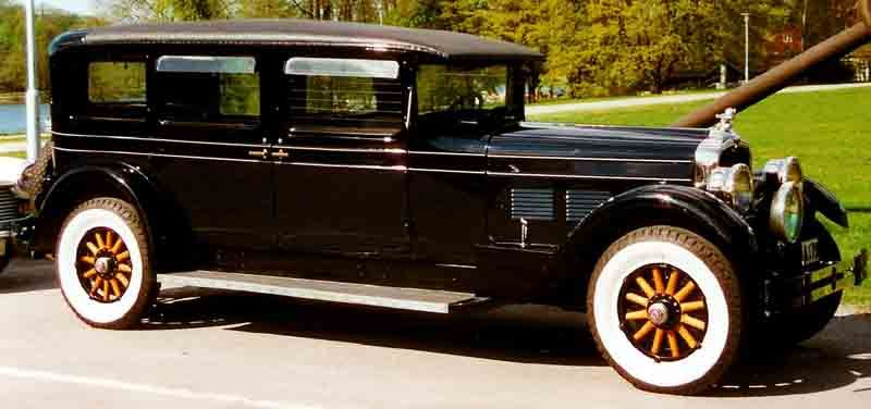 Stutz Vertical Eight AA Limousine 1927