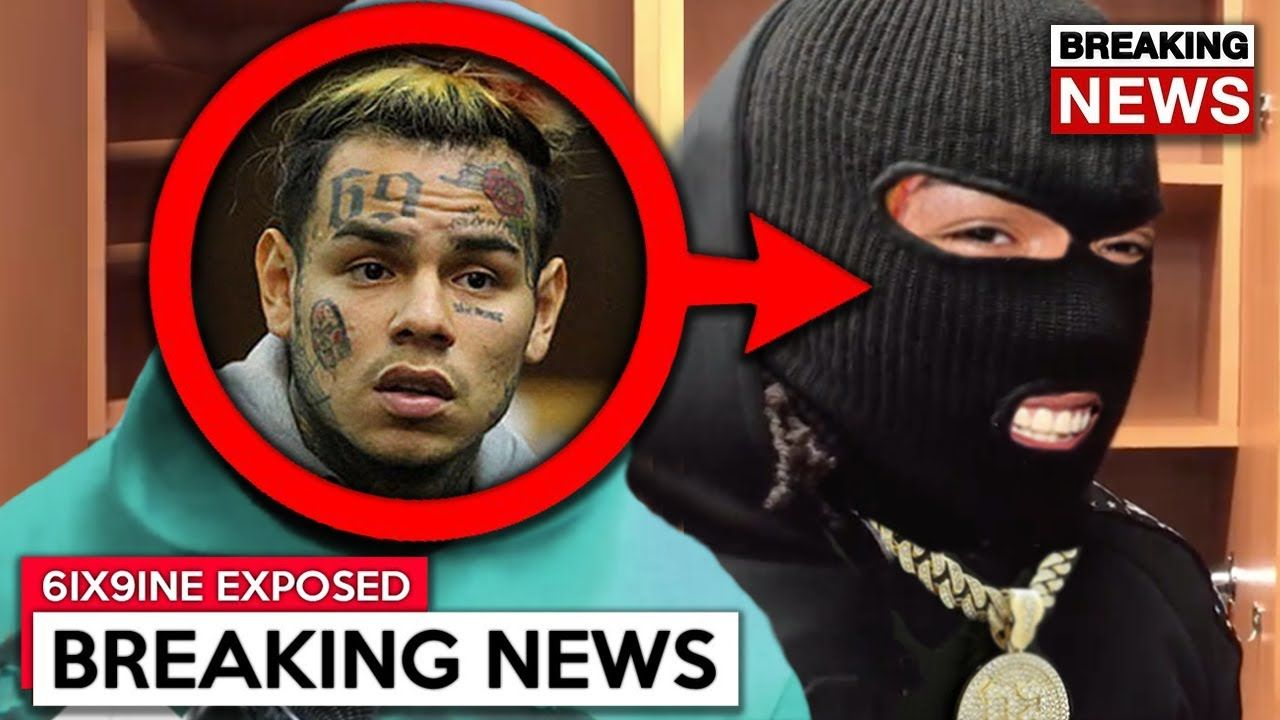 Proof 6ix9ine Was Working With Feds All Along Youtube In 2020