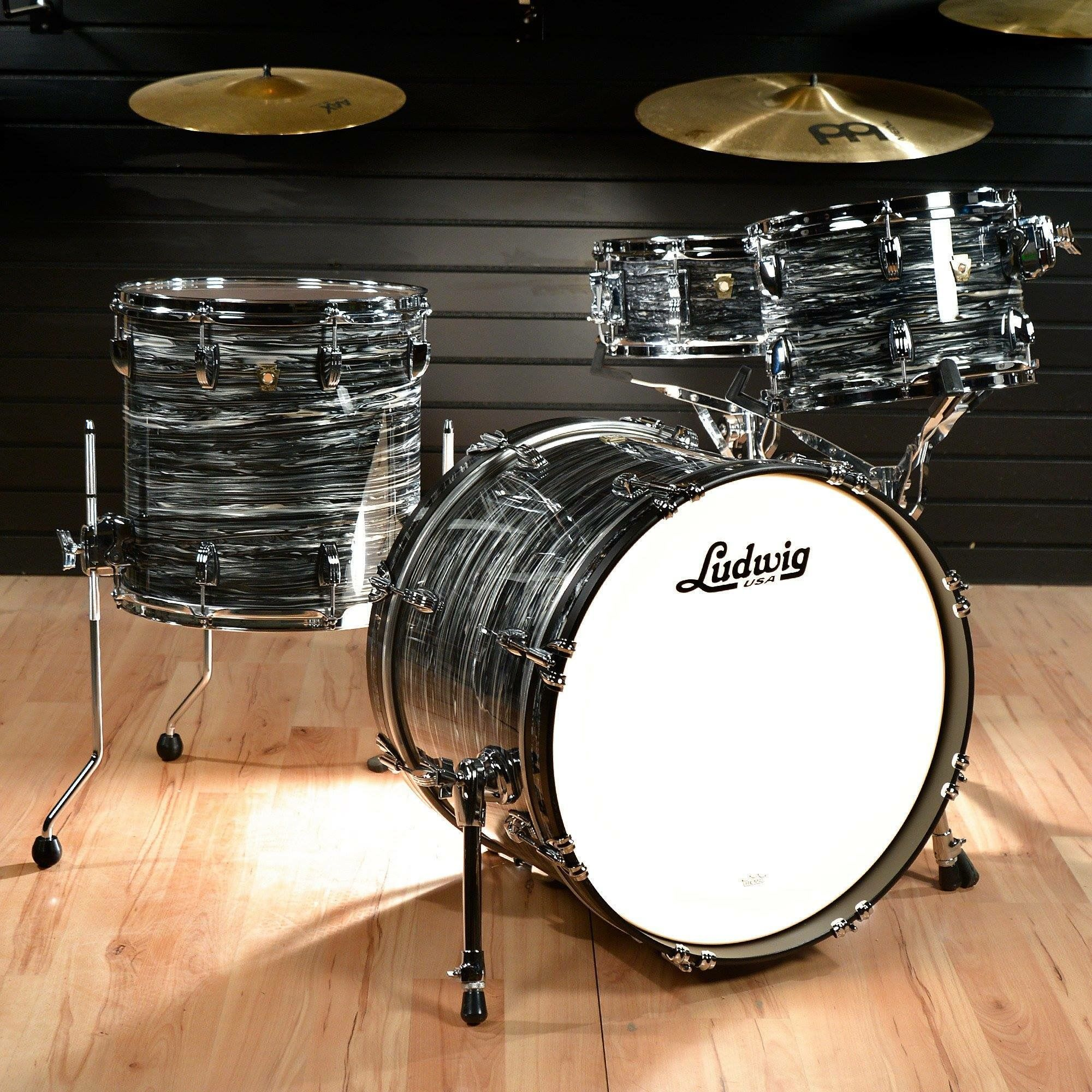 ludwig the art of drums and percussion in 2019 acoustic drum drums acoustic drum set. Black Bedroom Furniture Sets. Home Design Ideas