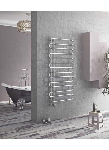 Boa Chrome Towel Radiator | bathroom | Pinterest